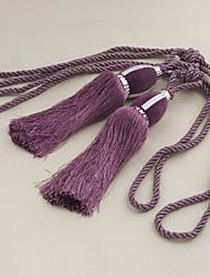 twopages® фиолетовый районного кисточку (одна пара)