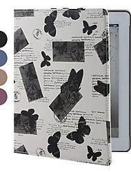 Butterflies Pattern Cases with Stand for iPad 2/3/4 (Assorted Colors)