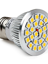 E26/E27 W 24 SMD 5050 300 LM Warm White PAR Spot Lights V