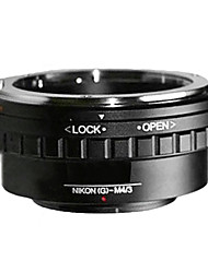 Nikon г AF-S объектив F микро 4/3 m4 / 3 MOUT адаптер GF2 GF3 g2 g3 GH2 электронной pl3 pm1