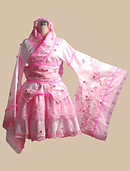 Inspired by Vocaloid Hagane Miku Video Game Cosplay Costumes Cosplay Suits Patchwork Pink Top