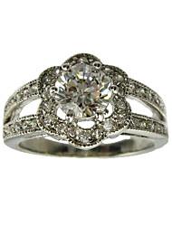 runden Zirkonia Mode-Ring (weitere Farben)