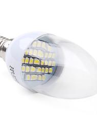 E14 smd 3528 30led 70-100lm 1,5-2w brancas 6000-6500K lâmpadas vela (220-240v)