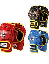 Internally Thicken Short Finger Boxing Gloves 10oz (Random Colors) (Average Size)