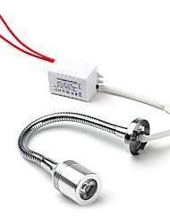 1W 90LM 6500K Natural White Light Flexible LED Lamp (85-265V)