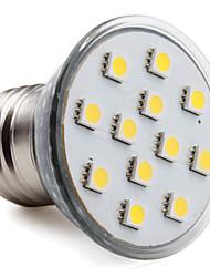 E26/E27 Focos LED MR16 12 SMD 5050 150 lm Blanco Cálido AC 100-240 V