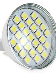 1W GU5.3(MR16) LED Spotlight MR16 27 SMD 5050 300 lm Natural White V