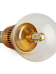 3W E14 Lâmpada Redonda LED G50 6 SMD 5630 270 lm Branco Quente V