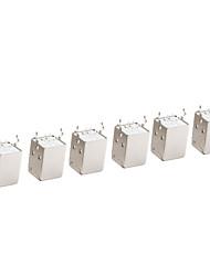 10 Pieces USB Type-B Female 4 Pin Plug Connector Socket DIY