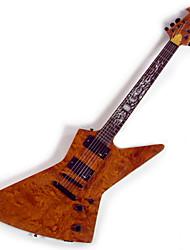 Derulo - (rei do palco) de alto grau de guitarra de mogno elétrica com saco de correia / / picks / cabo / barra whammy