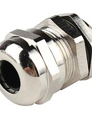 m16 металла водостойкой кабельных вводов и серебра (16 мм 10 шт)