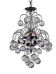 UETERSEN - Lustre Moderne Cristal - 3 slots à ampoule