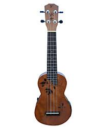 yadars - (YS-500le) ukulele soprano mogno