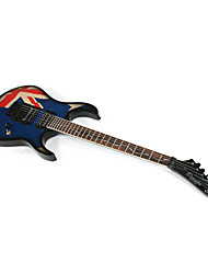 Derulo - Professional British Flag Design Stratocaster Electric Guitar with Bag/Strap/Picks/Cable/Whammy Bar