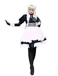 Inspired by Hetalia White Russia Natalia Alfroskaya Anime Cosplay Costumes Cosplay Suits Patchwork Long Sleeve Dress For Female