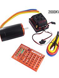 skyrc 1/8 Торо x150 комбинированный набор (x150 ESC +2000 кв двигателя + программирование карт)