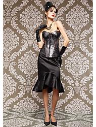 delicado laço / viscose com corsets fechamento do laço strapless frente busk shapewear sexy lingerie shaper