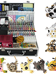8 Alloy Tattoo Gun Kit for Lining and Shading