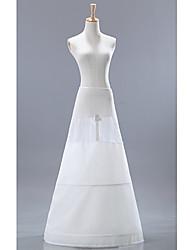 Charme Spandex Médio Plenitude Deslizamento Mulheres Floor Duração Petticoats casamento