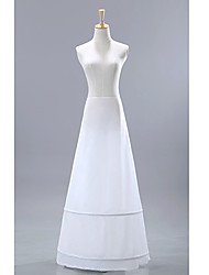 Slips A-Line Slip Floor-length 1 Nylon White