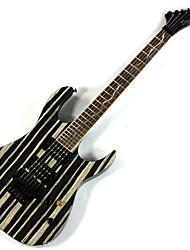 Derulo - guitarra stratocaster profissional mogno elétrica com saco de correia / / picks / cabo / barra whammy
