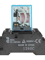 my4nj 5a elektromagnetische Relais-blau (AC 220 240 V)