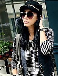 mode cap anti-zonnehoed dames afgeplatte (instelbaar)