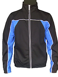 JAGGAD Cycling Tops / Jacket / Windbreakers Men's Bike Wearable / Windproof Long Sleeve Polyester / Coolmax Black S / M / L / XL / XXL