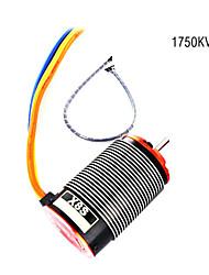 skyrc ares x8s motor brushless 1750kv1 / 8 sensor para carro