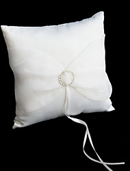 Rhinestone Pillow Wedding Ring