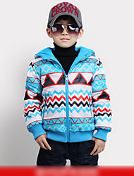Trendy Color Block Both Sides Put Coat