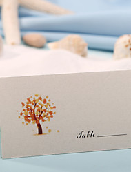 Place Cards and Holders Place Card - Gold Maple Tree (Set of 12)