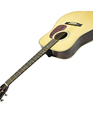 "recordingking - (RD-516) 41"" All-solid Adironack Spruce Dreadnought Acoustic Guitar with Bag/Strap/Picks/Wrench"