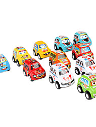 Mini Cars Pull Back and Go Toys for Kids (11-Pack)