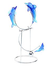 Dolphin Balance Mobile Desk Decoration