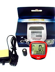 Digital LCD Waterproof Bike Computer Bicycle Speedometer