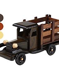 décoration de bureau en bois camion (modèle aléatoire)