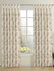 dois moderno painel bege novidade cortinas da janela cortinas eco-friendly