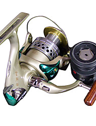 Champagne 5+1BB Spinning Reels 0.15/280,0.20/250,0.30/240,0.35/250 with One Extra Cap