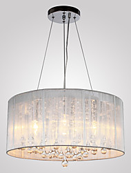 Chandeliers Crystal Traditional/Classic Living Room/Bedroom/Dining Room/Study Room/Office/Entry/Hallway Metal