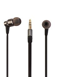 novas moda de alta qualidade macarrão de metal shell de linha de fones de ouvido