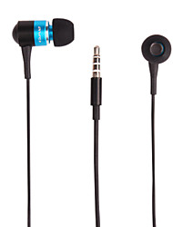 Metal Shell In-ear Headphones with Microphone