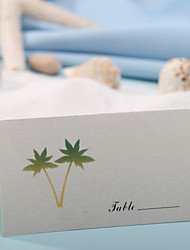 Place Cards and Holders Place Card - Coconut Tree (Set of 12)