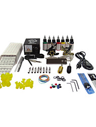 2 Cast Iron Tattoo Machine Gun Kit for Liner and Shader