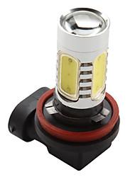 H8 7.5W 600lm 8000K 7000-Blanc Ampoule LED haute puissance pour les lampes de voiture (12V DC)