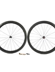 Supernova - 50 mm de fibra de carbono tubulares juegos de ruedas de bicicleta de carretera con NPP Series