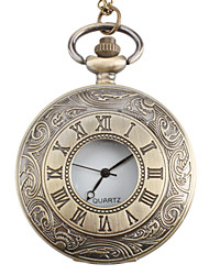 Unisex Wave Style Alloy Analog Quartz Pocket Watch (Bronze) Cool Watches Unique Watches