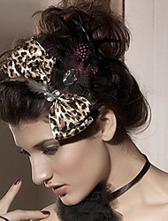 Women's Polyester Headpiece-Wedding / Special Occasion Fascinators