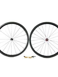 Supernova - 38 mm de fibra de carbono tubulares juegos de ruedas de bicicleta de carretera con NPP Series