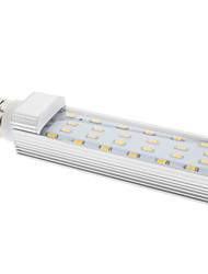 Ampoule Maïs Blanc Chaud E26/E27 12 W 24 SMD 5630 1210 LM 3000K K AC 100-240 V